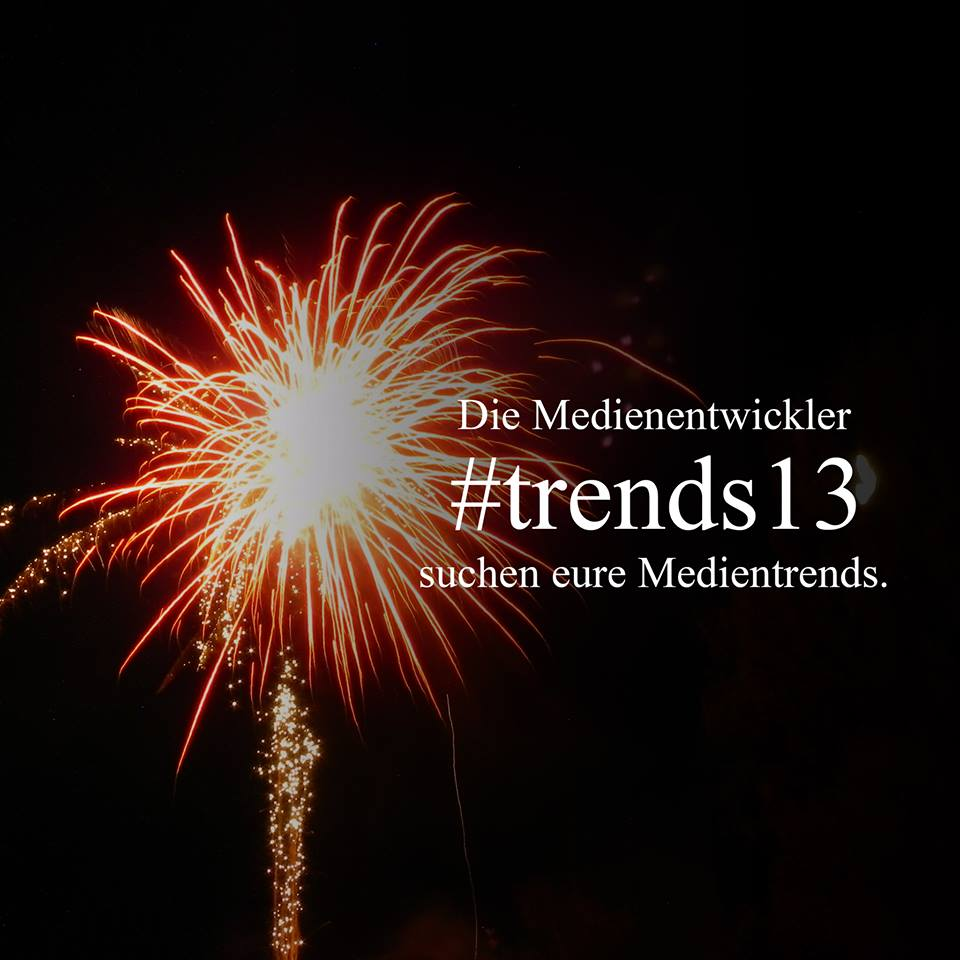Medientrends 2013