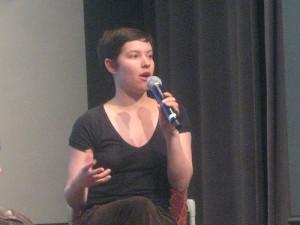 Die geschäftsführende Redakteurin von Global Voices Solana Larsen.