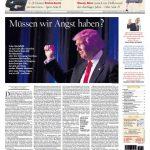 Der Tagesspiegel stellt eine unangenehme Frage. Die Antwort jedoch wird sich erst zeigen, wenn Trump endlich seine Pläne offenbart und Klartext spricht.