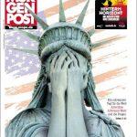 Die Morgenpost zeigt die Freiheitsstatue in verzweifelter Pose. Sie macht jedoch auch klar: Nicht nur die USA haben Anlass, sich Sorgen zu machen. Der 9. November sei für die ganze Welt ein schwarzer Tag.