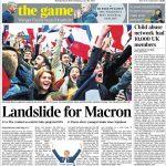 Die britische Times hebt vor allem die Deutlichkeit des Wahlergebnisses hervor.